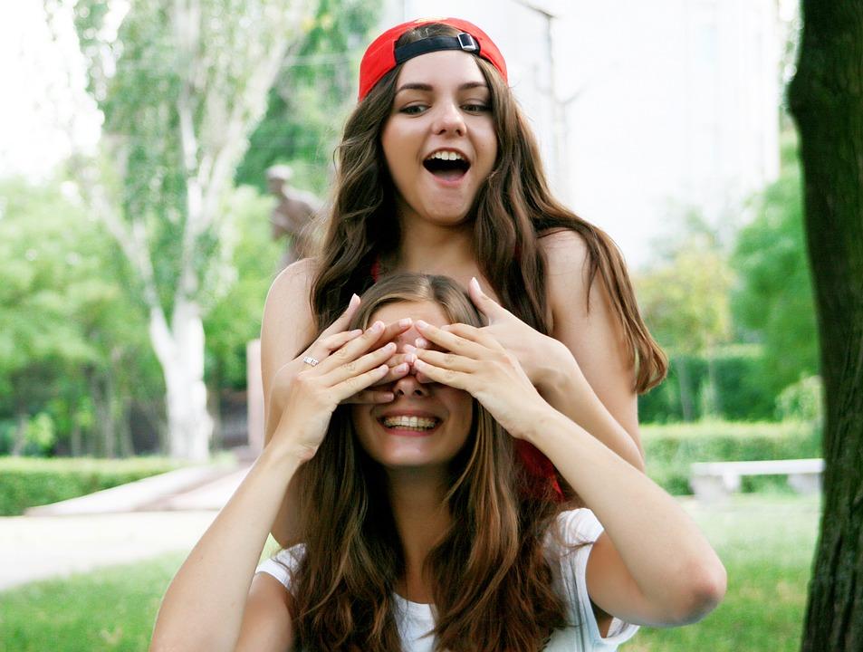 笑顔の女の子たち