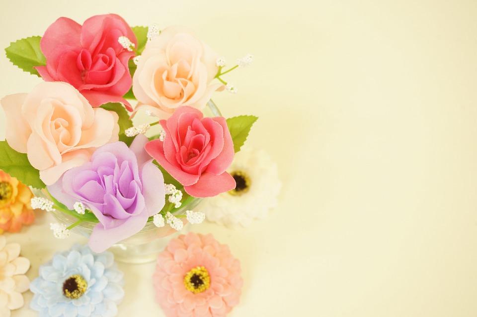 キレイな造花