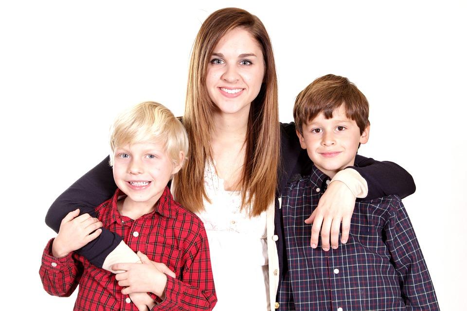 仲の良い家族