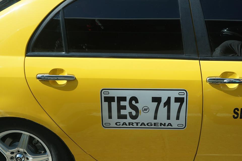南アメリカのタクシー