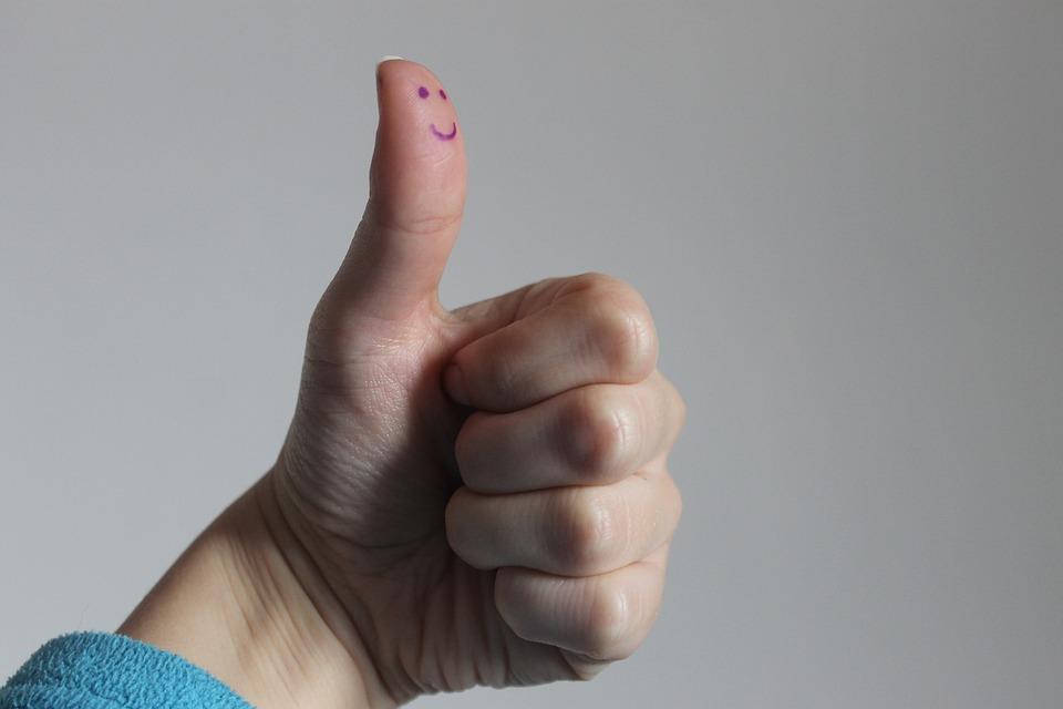可愛い親指