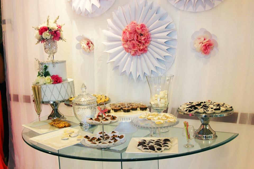結婚式のプチデザート