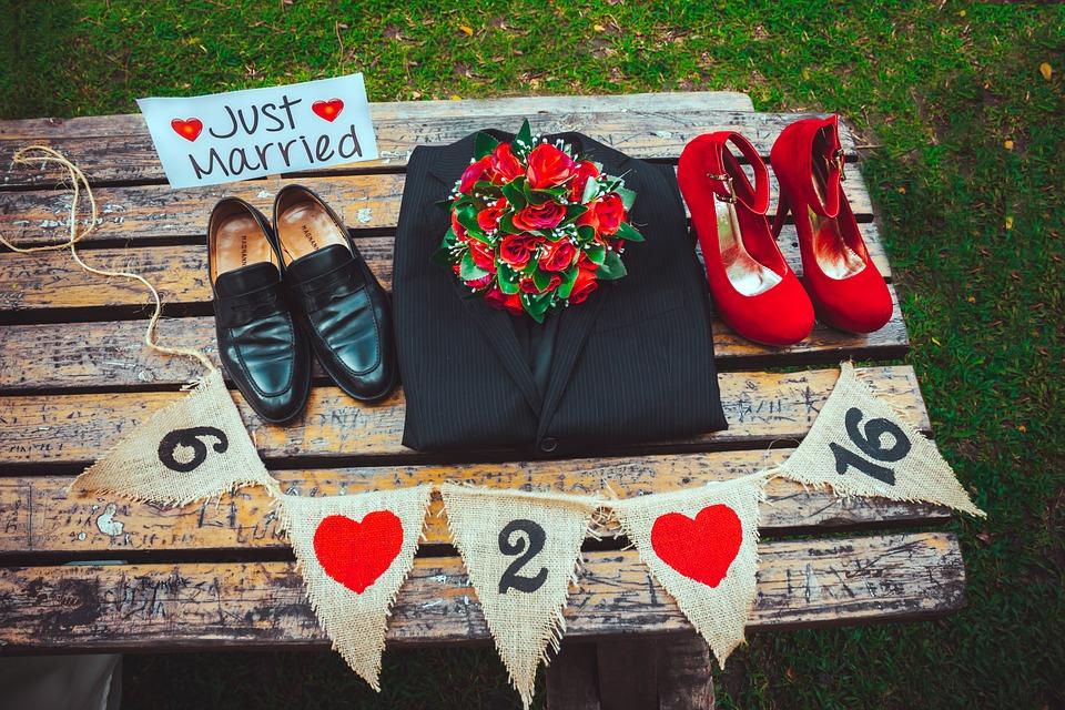 結婚式のアイテム