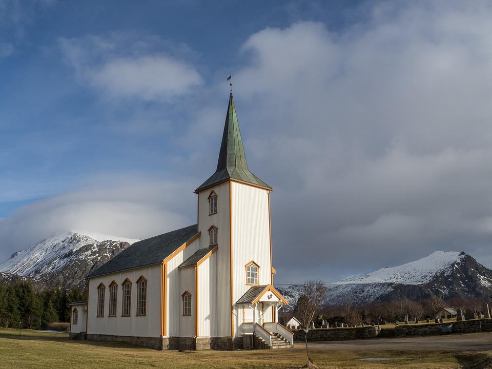 山奥の教会