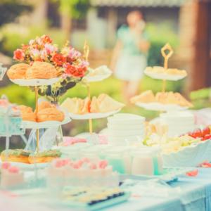 結婚式は料理が命